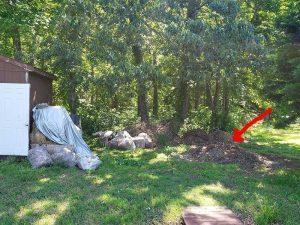 Community Plots Compost Pile
